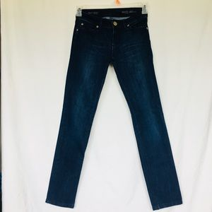 DL1961 Angel Mid Rise Skinny Ankle Jeans size 25